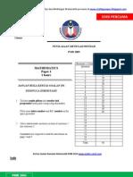 Soalan Sebenar PMR 2005[1]