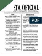 GO 39668 Ley Especial de Regularizacion Integral de La Tenencia de La Tierra de Los Asentamientos Urbanos o Periurbanos
