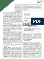 Revocan resolución que declaró improcedente solicitud de inscripción de lista de candidatos para el Concejo Distrital de Veintisiete de Noviembre provincia de Huaral departamento de Lima