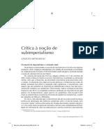 MATOS, Angelita Souza. Crítica à noção de subimperialismo.pdf