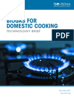 IRENA Biogas for Domestic Cooking 2017