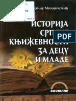 M.milinkovic Istorija Srpske Knjizevnosti Za Decu i Mlade