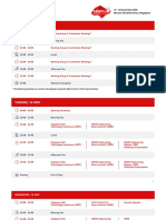 CAFEO 36 Event Programme