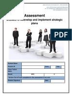 DevelopandImplementStrategicPlans- BSBMGT616