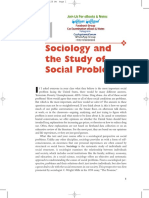 Sociology and the Study of Social Problems Book 11