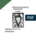 Trabajo Práctico de Acustica y Organología