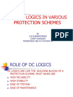 DC Logics in Protection
