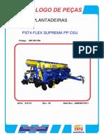 Plantadeira Tatu Pst4 Flex Superma Pp Csu