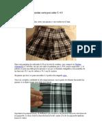 Patrón y tutorial Pantalón corto para niña T.doc