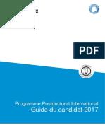 IdExBordeaux 2017PostDocProgram Guide Du Candidat v1