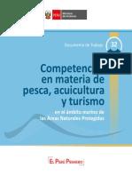 Competencias en materia de pesca, acuicultura y turismo