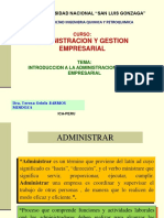 Introduccion a La Administracion Empresarial