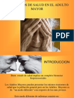 3.- Trastornos de Salud Adulto Mayor