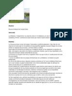 Reserva Natural de Ciudad Evita - Presentación