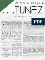Ventana abierta al mundo de Antúnez - Enrique Lihn