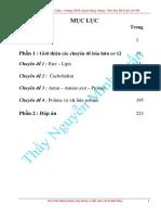 Sách 4 Chuyên Đề Hóa Hữu Cơ 12