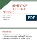 Management of Acute Ischemic Stroke.pptx