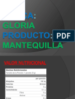 Mantequilla Gloria