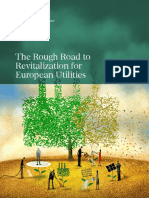 BCG the Rough Road to Revitalization for European Utilities