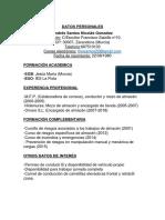 Curriculum Santos