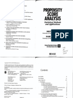 Guo Fraser Propensity Score Analysis Statistical Methods and Applications
