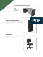 Especificaciones Tecnicas Muebles de Oficina