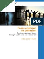 From Coercion - Treating Drug Dependence Through Health Care, Not Punishment - Escritorio Sobre Drogas Da ONU