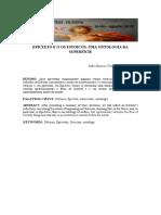 Epicteto e o Os Estoicos Uma Ontologia d