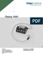 Oxylog 1000 User Manual
