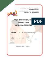 Programa Analitico de La Asignatura Lic Olivia 2018