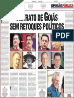 Retrato de Goiás sem retoques políticos - Batista Custódio
