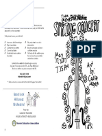 2017-05-17 DRAFT 1A Hillcrest Orch Program May 2017