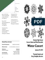 2015-01-29 HS Band Winter Concert 01-15 Draft 4