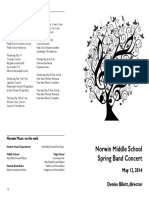 2014-05-12 MS Band Concert