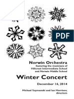 2014 12 16 MS Hillcrest Orchestra Program 12 14