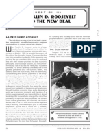 History Part II Franklin D. Roosevelt and the New Deal