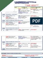 Planificare Calendaristica Nivel II 20182019 Curriculum 2008