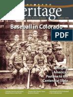 Colorado Heritage Magazine Summer 2018