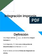 Clase 11 - Integración Impropia