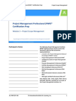 PMP preparation Module 3