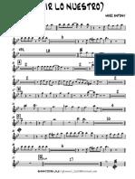 VIVIR LO NUESTRO Trumpet 1.pdf
