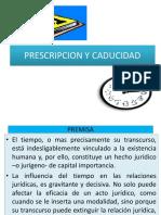 Prescripcion y Caducidad