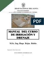 Manual del Curso de Irrigacion - HUGO ROJAS RUBIO.pdf