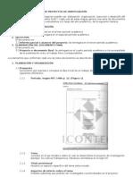 Guía para la presentacón de proyectos de investigación