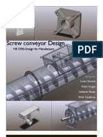 Screw conveyor Design and Developement