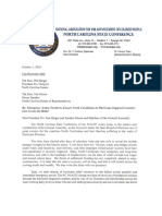 Naacp Ncga Letter