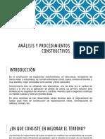 Análisis y Procedimientos Constructivos.pptx