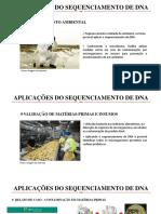 SEMINÁRIO - APLICAÇÕES DO SEQUENCIAMENTO DE DNA.pptx