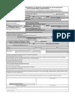 Formato Registro de Generadores y Categoría
