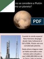 Plutón y Planetas Enanos